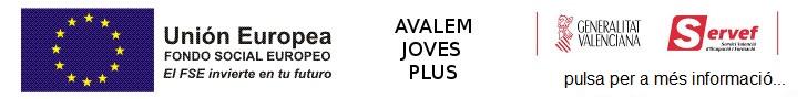 Programam Avalem Joves Plus. Click per a més informacio