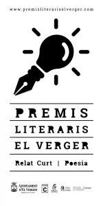 ELS PREMIS LITERARIS EL VERGER AMPLIA LA DATA LÍMIT D'ENTREGA