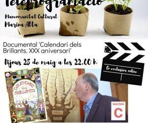 """DOCUMENTAL""""CALENDARI DELS BRILLANTS. XXX ANIVERSARI"""""""