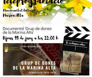 """DOCUMENTAL """"GRUP DE DONES DE LA MARINA ALTA"""""""