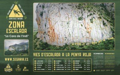 Zona D'escalada en la Serra Segària