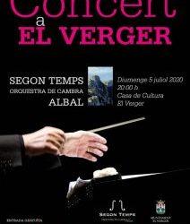 CONCERT SEGON TEMPS ORQUESTRA DE CAMBRA ALBAL
