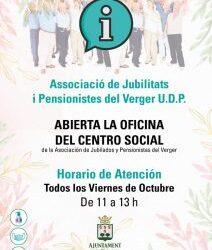 OBERTURA DE L'OFICINA DEL CENTRE SOCIAL