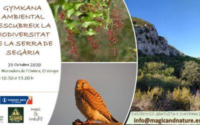 "ENVIRONMENTAL GYMKANA ""DISCOVER THE BIODIVERSITY OF THE SIERRA DE SEGARIA"