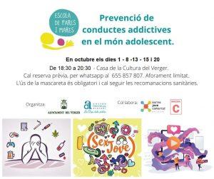 ESCOLA DE MARES I PARES: PREVENCIÓ DE CONDUCTES ADDICTIVES EN EL MÓN ADOLESCENT