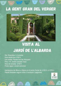 VISITA AL JARDI DE L'ALBARDA